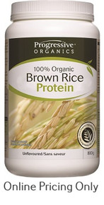 Progressive Brown Rice Protein Unflavoured 800g