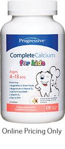 PROGRESSIVE COMPLETE CALCIUM KIDS 120tabs