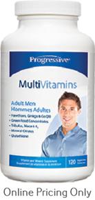 Progressive Multivitamins Men 120caps