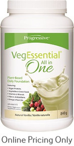 Progressive Veg Essential Vanilla 840g