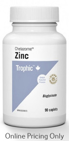 Trophic Zinc Chelate 90tabs
