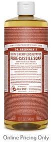 Dr. Bronner's Eucalyptus Castile Soap 946ml