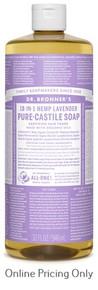 Dr. Bronner's Lavender Castile Soap 946ml