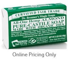 Dr Bronner's Almond Soap Bar 142g