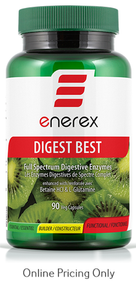 Enerex Digest Best Enzymes 90vcaps