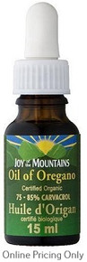 Joy of Mountains Oil of Oregano 15ml