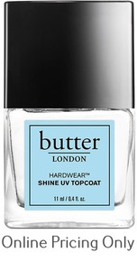 BUTTER LONDON NAIL LAC HARDWEAR UV TOPCOAT 11ml
