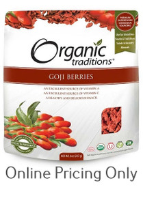 Organic Traditions Goji Berries 227g