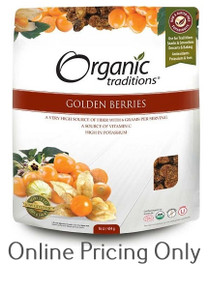 Organic Traditions Golden Berries 454g