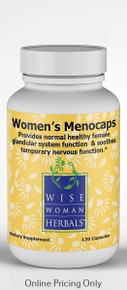 Wise Women Herbals Women's Menocaps 408mg 120caps