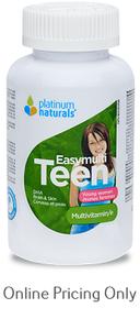 PLATINUM NATURALS EASYMULTI TEEN YOUNG WOMEN 120sg