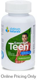 Platinum Naturals EasyMulti Teen Young Men 120sg