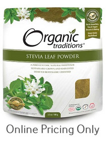 Organic Traditions Stevia Lead Powder 100g