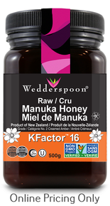 Wedderspoon Manuka Honey K Facator 16 500g
