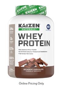 Kaizen Naturals Whey Protein Chocolate 2.3kg
