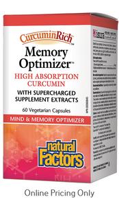 Natural Factors Memory Optimizer 60vcaps