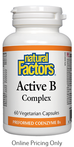 Natural Factors Active B Complex 60vcaps