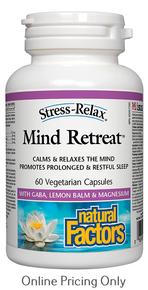Natural Factors Mind Retreat 60vcaps