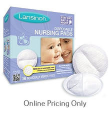 Lansinoh Disposable Nursing Pads 36s