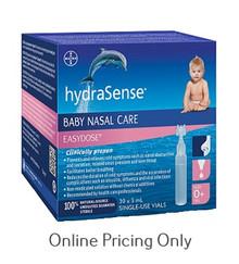 HYDRASENSE BABY NASAL CARE 30 x 5ml VIALS
