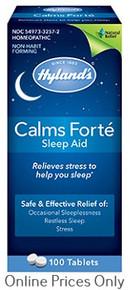 Hylands Calms Forte 100tabs