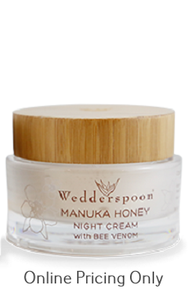 Wedderspoon Manuka Honey Night Cream with Bee Venom 50ml