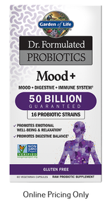 Garden of Life Dr. Formulated Probiotics Mood+ 50 Billion 60vcaps