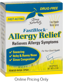 Terry Naturally Fast Block Allergy Relief 4.8g