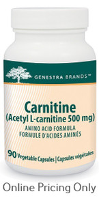 Genestra Brands Carnitine Acetly L-Carnitine 500mg 90caps