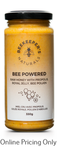 Beekeepers Powered Raw Honey 330g