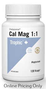 Trophic Cal Mag Chelazome 1:1 120vcaps