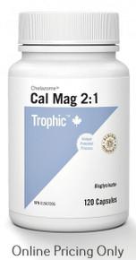 Trophic Cal Mag Chelazome 2:1 120caps