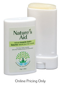 Nature's Aid Muscle Balm 12g