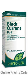 Genestra Brands Black Current Bud 15ml