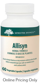 Genestra Brands Allisyn 60vcaps