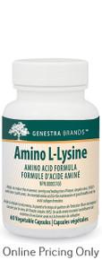 Genestra Brands Amino L-Lysine 60vcaps