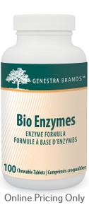 Genestra Brands Bio Enzymes 100tabs