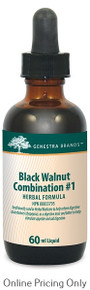 Genestra Brands black Walnut Combination #1 60ml
