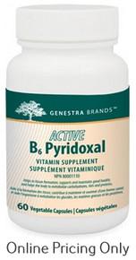 Genestra Brands Active B6 Pyridoxal 60vcaps