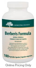 Genestra Brands Berberis Formula 180vcaps