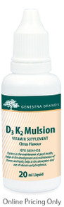Genestra Brands D3 K2 Mulsion 20ml