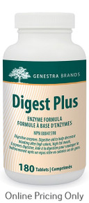 Genestra Brands Digest Plus 180tabs