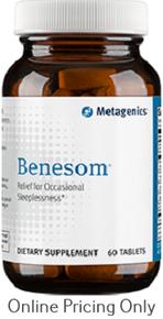 Metagenics Benesom 60tabs