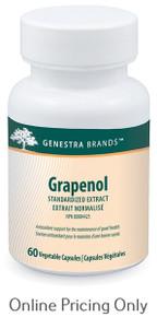 Genestra brands Grapenol 60vcaps