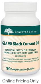Genestra brands GLA 90 Black Currant Oil 90sg