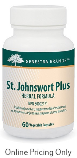 Genestra Brands St. Johnswort Plus 60vcaps