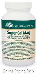 Genestra Brands Super Cal Mag 180vcaps