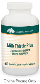 Genestra Brands Milk Thistle Plus 60vcaps
