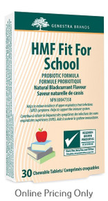 Genestra Brands HMF Fit for School Chewable 30tabs