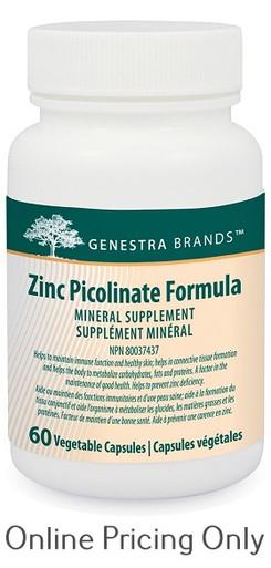 Genestra Brands Zinc Picolinate Formula 60vcaps
